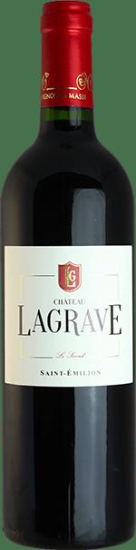 Bouteille de vin rouge - Château Lagrave